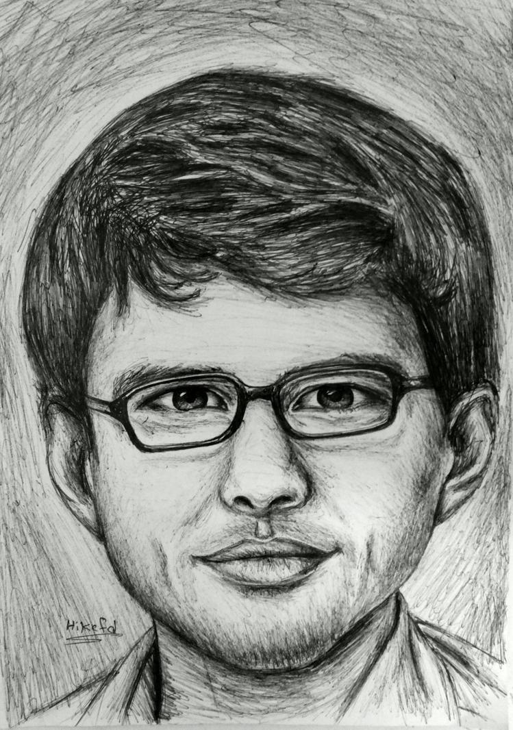 portrait #3 by hikefd