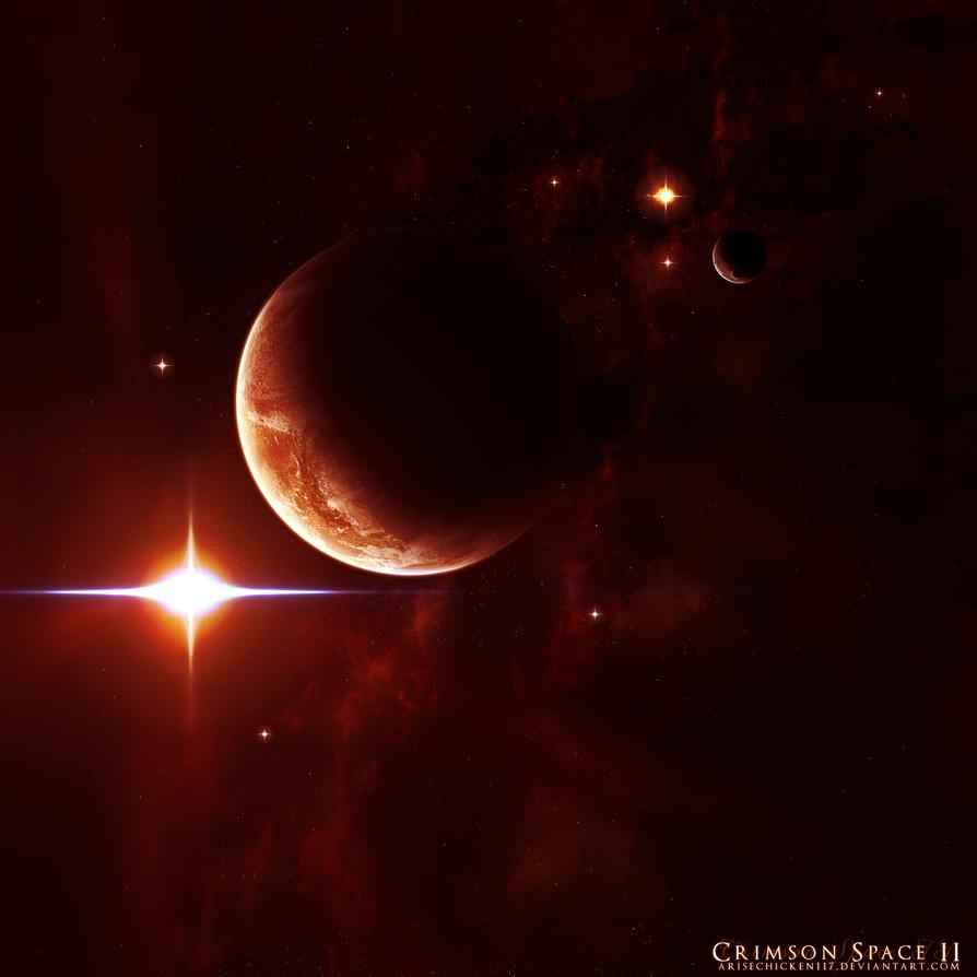Crimson Space II by arisechicken117