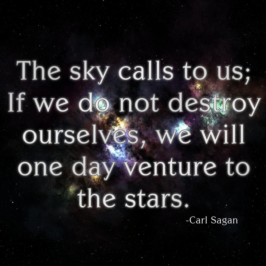 Carl Sagan Love Quote Carl Sagan Quote Iiarisechicken117 On Deviantart