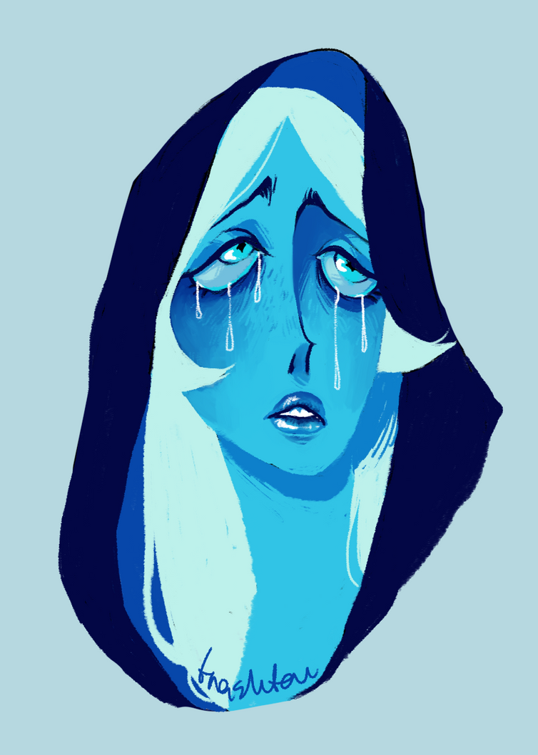 blue diamond wallpaper steven universe