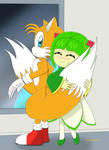 Tails and Cosmo cute couple