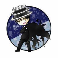 Chibi Death the Kid by Kyuukeru