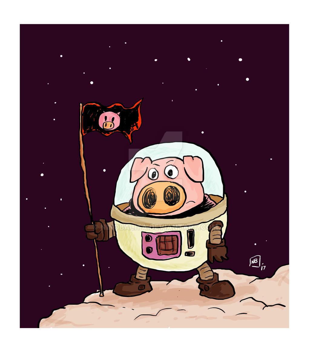 Hamilton the Space Piglet