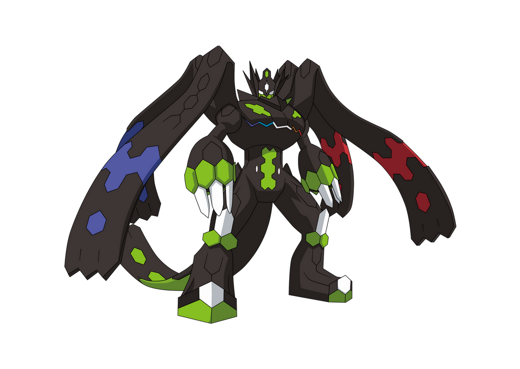 Zygarde 100 anime style by alexalan on deviantart for Boden pokemon