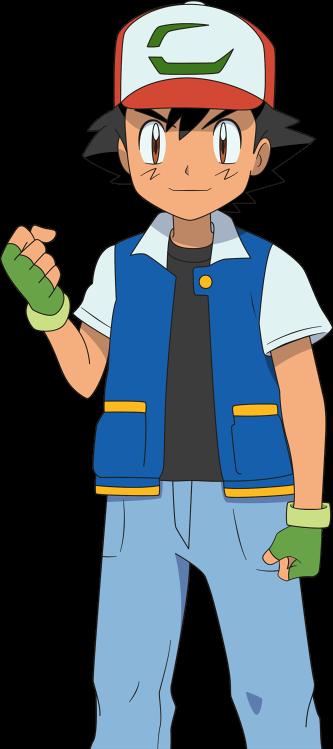 Ash / Satoshi - Pokemon The Movie 20 Render by Alexalan