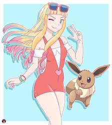 Lisa - Pokemon Movie 21 by Alexalan
