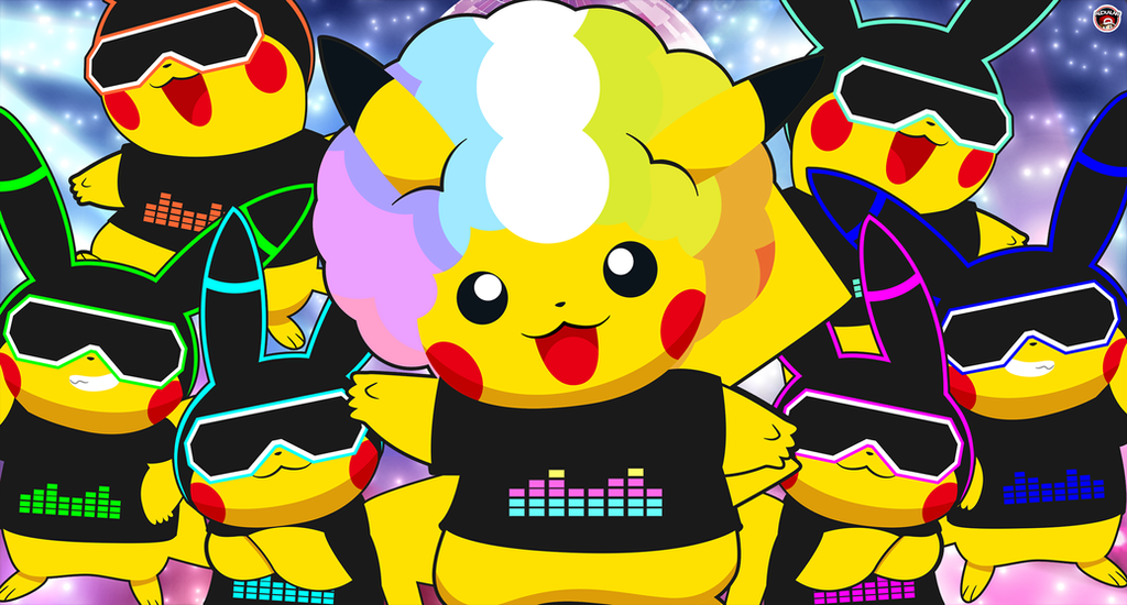 LED PIKACHU DANCERS FROM JAPAN by Alexalan