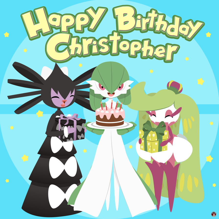 Happy Birthday Christopher!! [COMMISSION] by Alexalan