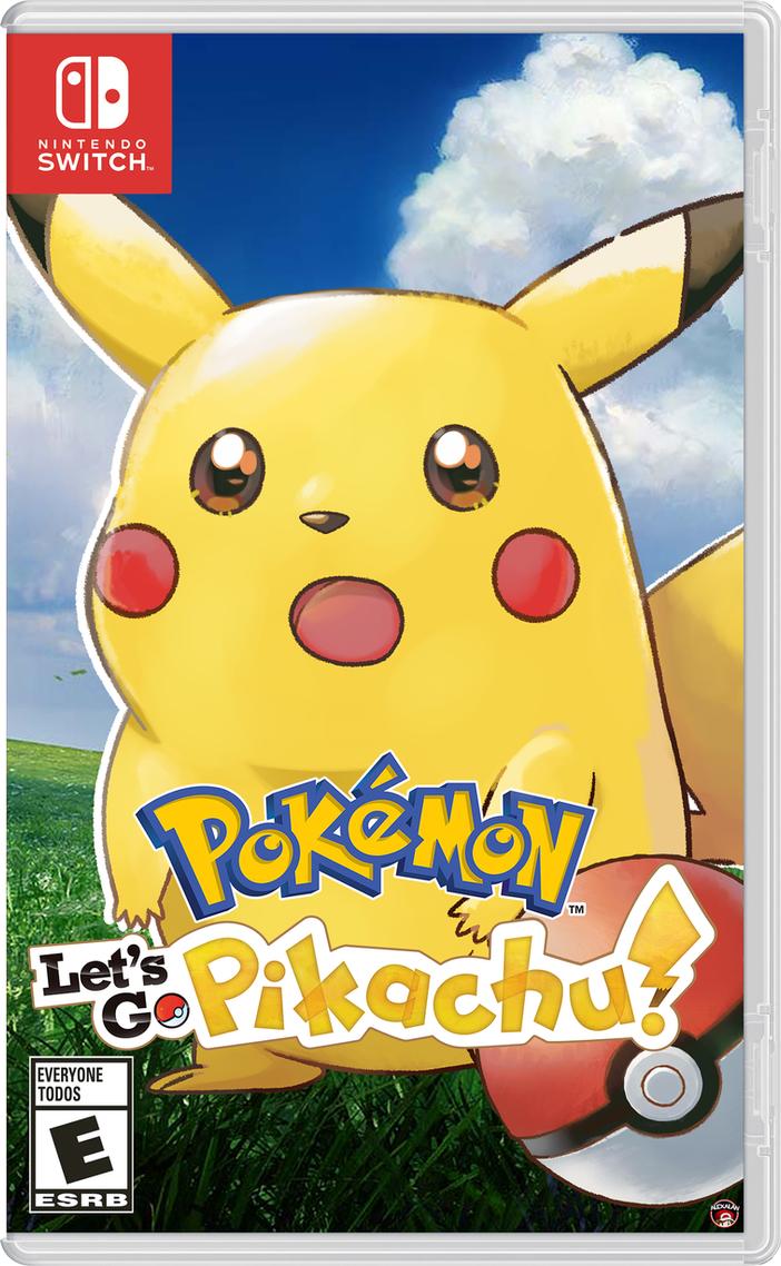 Pokemon Lets Go! Surprised Pikachu by Alexalan