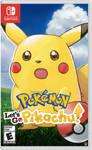 Pokemon Lets Go! Surprised Pikachu