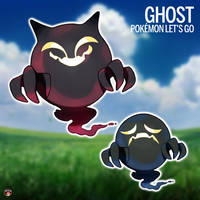 GHOST - POKEMON LETS GO PIKACHU AND EEVEE