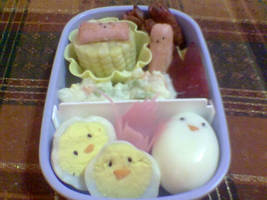 My first bento by peachmog