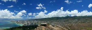 Oahu Panoramic by factorone33