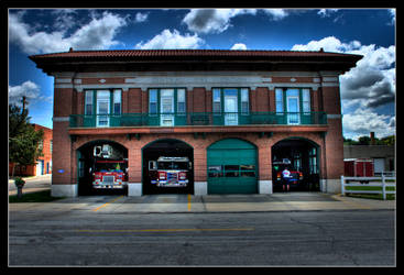 ST. Joseph Fire Station 1 HDR by factorone33