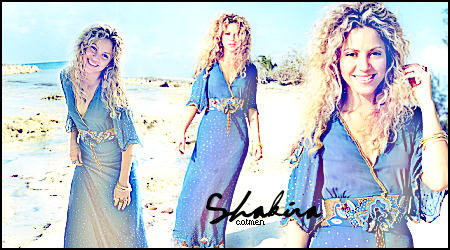 Blend Shakira by catmeen