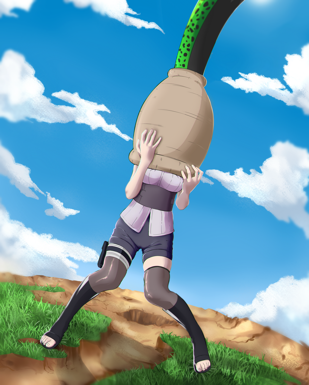 Android 18 And Tail Deviantart: Part 2 By Godvore On DeviantArt