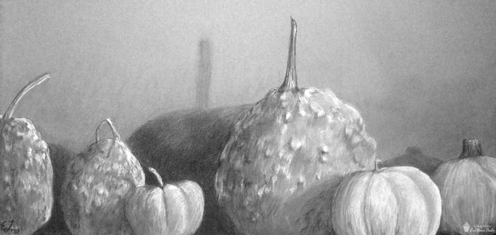 Tumor Gourds and Pumpkins