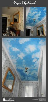Foyer Sky Mural