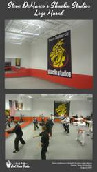 Steve DeMasco's Shaolin Studios Logo Mural