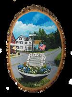 Gilsum Memorial on Main Street