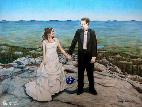 Thomas Wedding Portrait