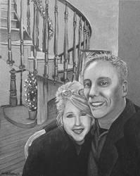 Houle Stairway Portrait