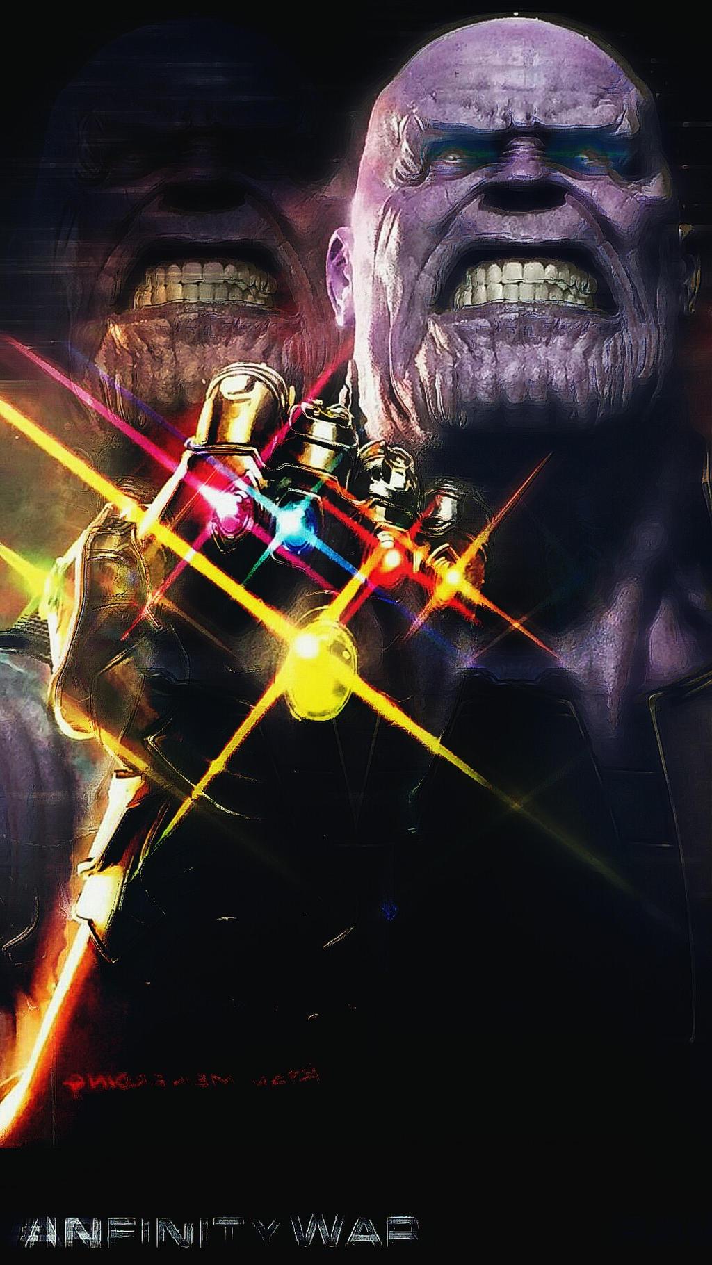 INFINITY WAR/Thanos Concept Art  by Korkmaz0648