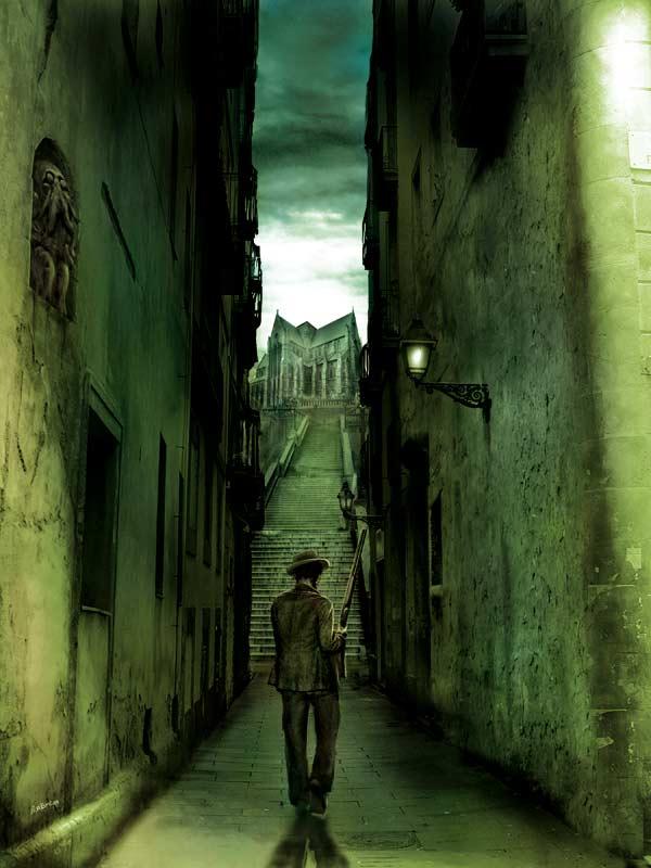 arkham detective tales by JeromeHuguenin