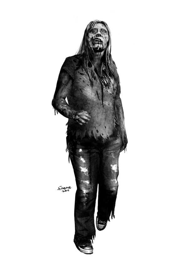 Zombie snifer by JeromeHuguenin