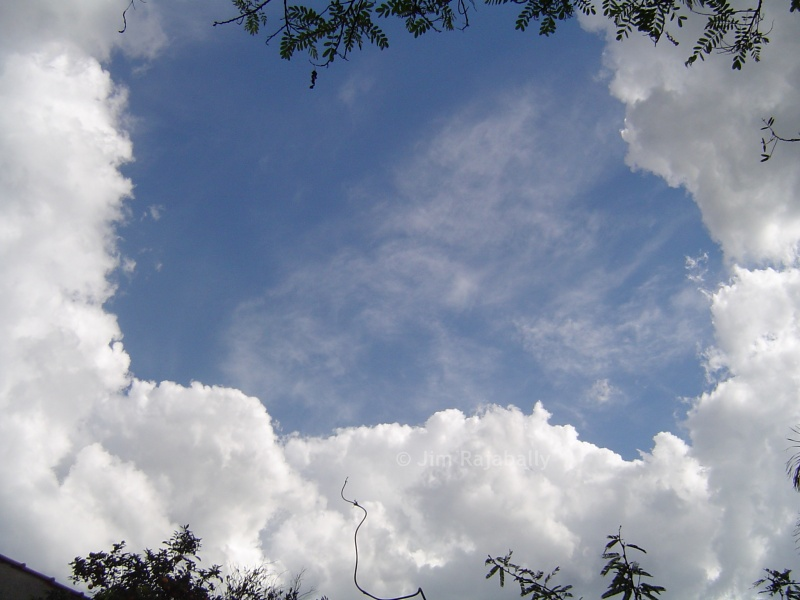 cloud frame by bersimon
