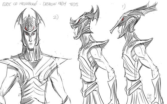 Elric - Dragon Helm tests