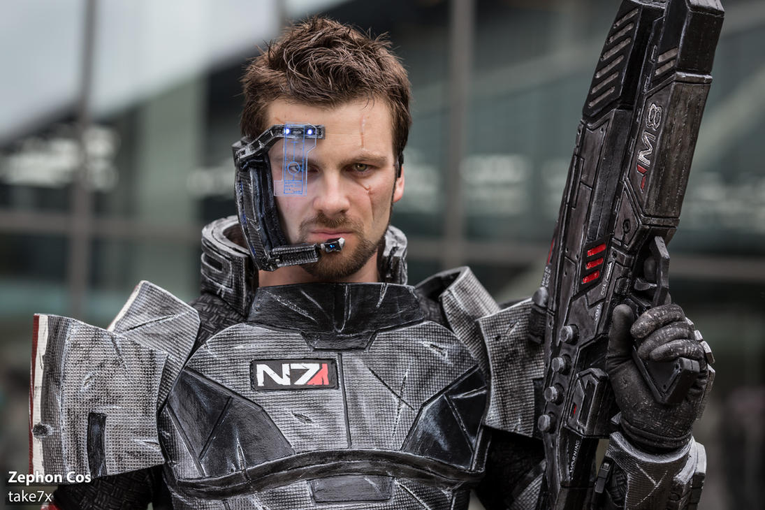 Zephon Cos (Commander Shepard) #02 by take7x