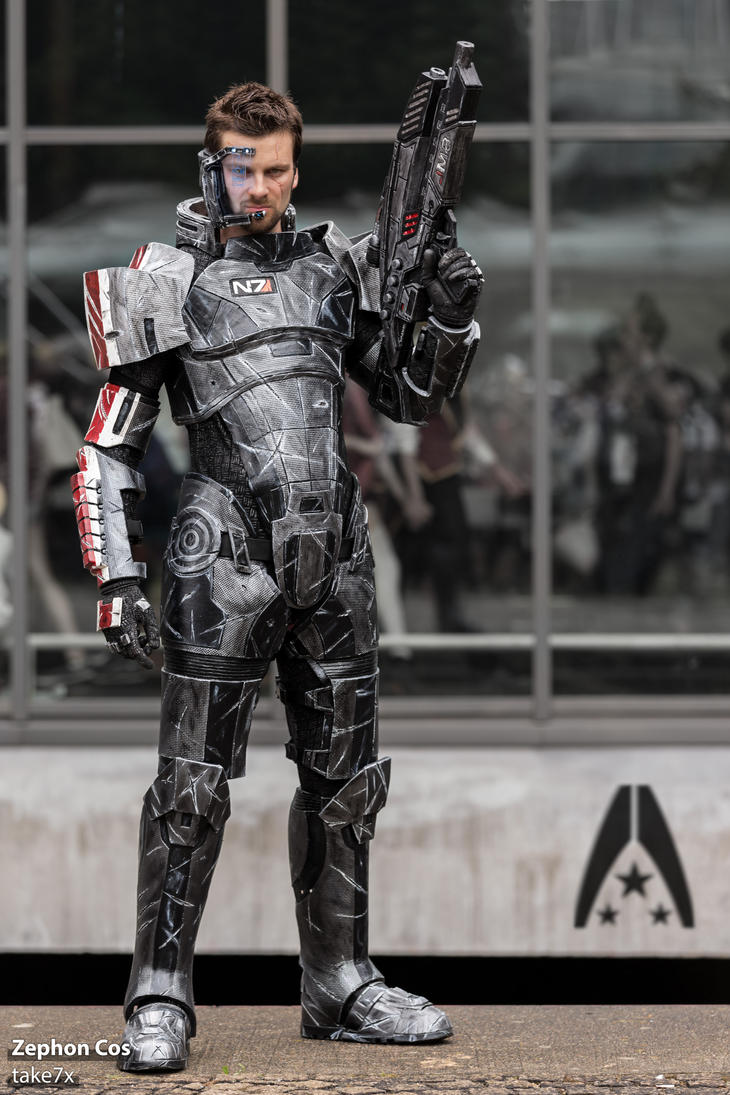 Zephon Cos (Commander Shepard) #03 by take7x