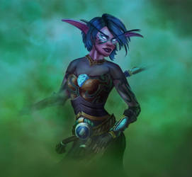 Night Elf Speedpaint
