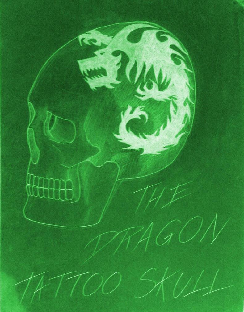 Drawing - Skull 23 by eduaarti