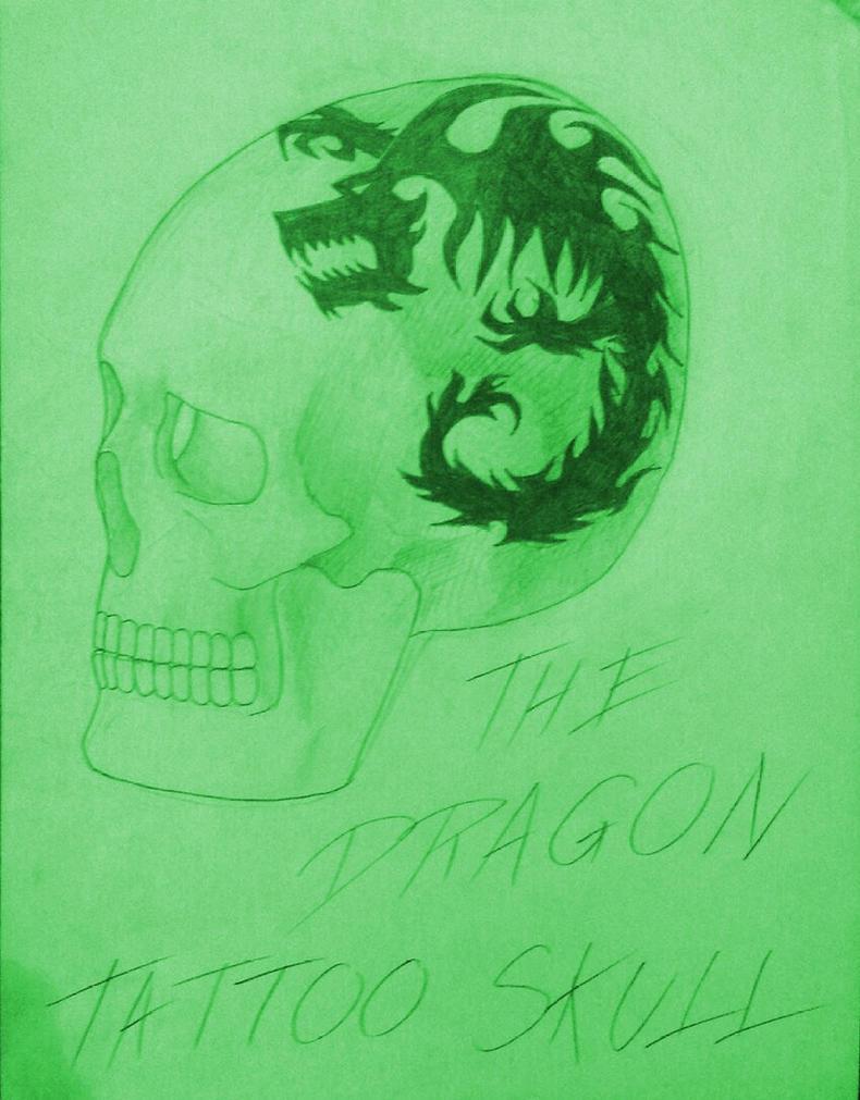 Drawing - Skull 24 by eduaarti