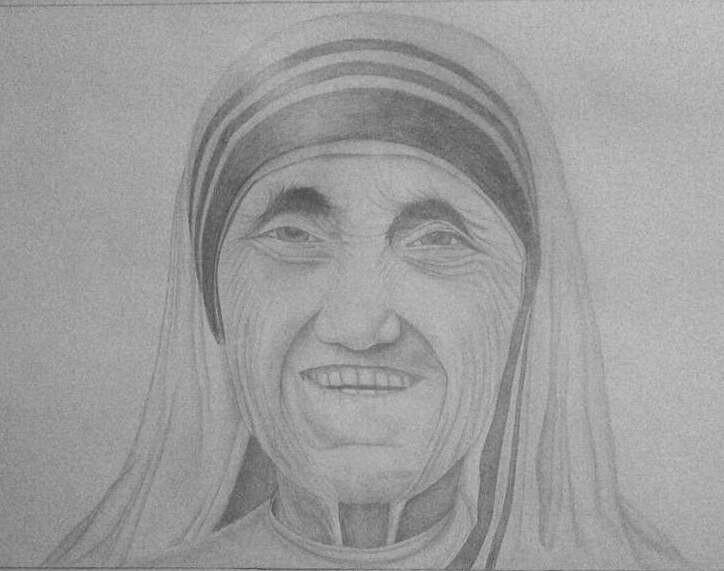 Vizatim - Nene Tereza by eduaarti