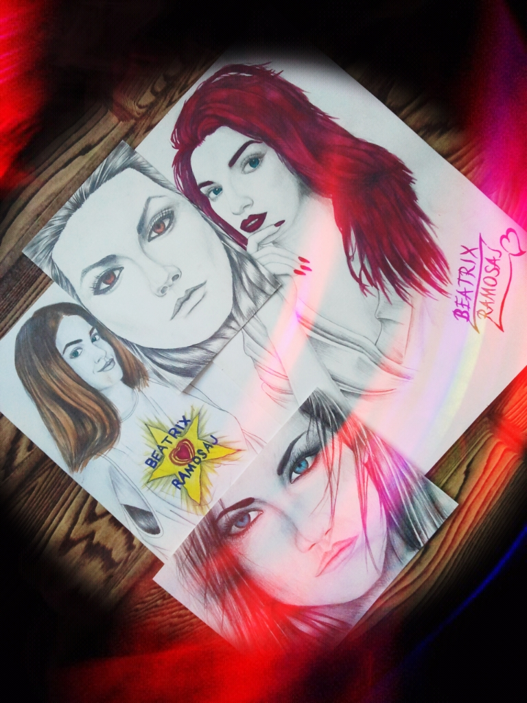 Drawing-Watercolor Mix - Beatrix Ramosaj_08 by eduaarti