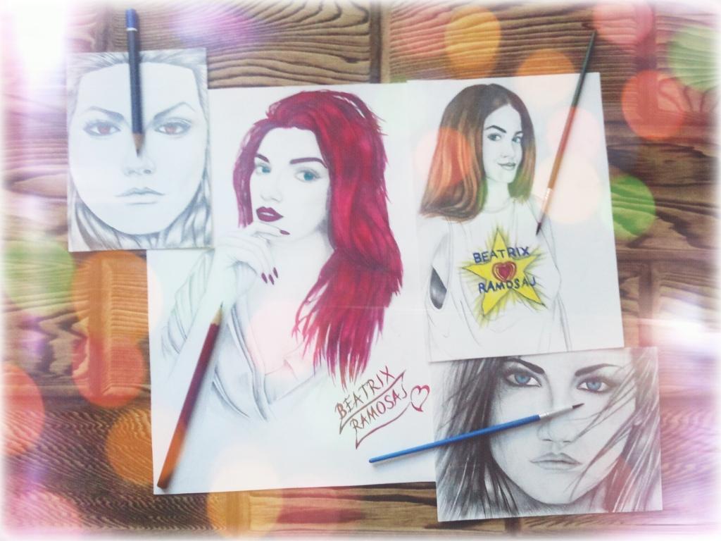 Drawing-Watercolor Mix - Beatrix Ramosaj_09 by eduaarti