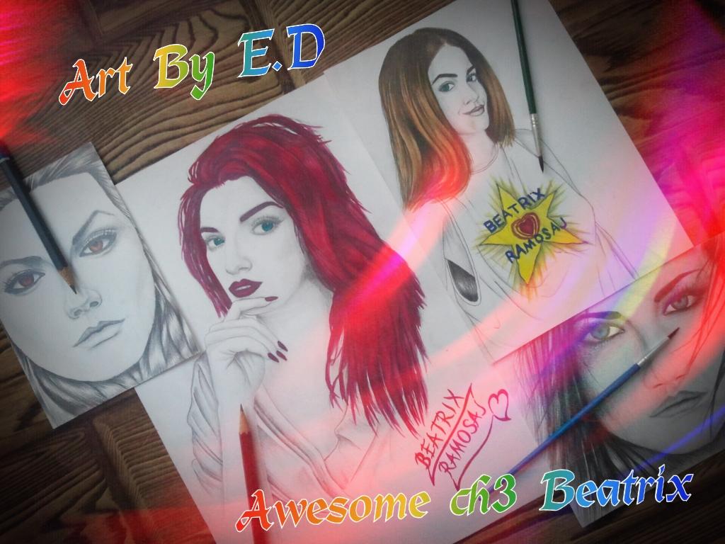 Drawing-Watercolor Mix - Beatrix Ramosaj_12 by eduaarti