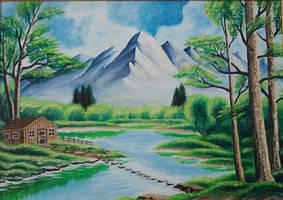 Piktura-Painting 0039 by eduaarti
