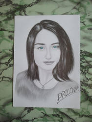 Drawing - Elizabeth_04 by eduaarti