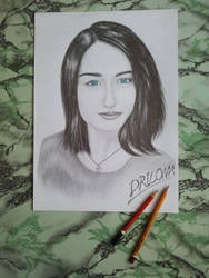 Drawing - Elizabeth_06 by eduaarti