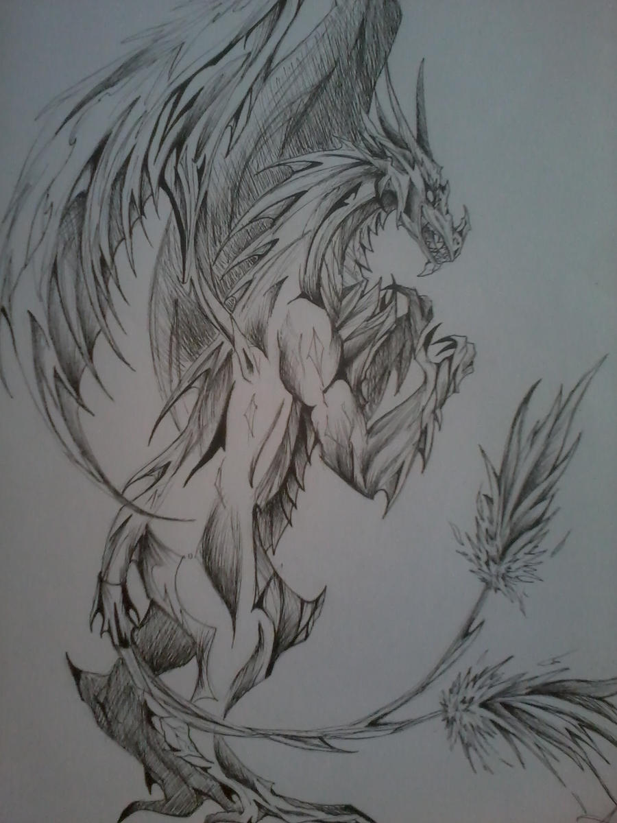 Mefi the evil dragon by Asashy on deviantART