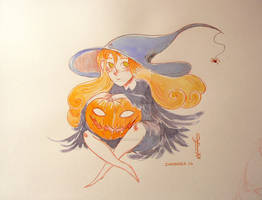 Witch - # Inktober 14 - 2014