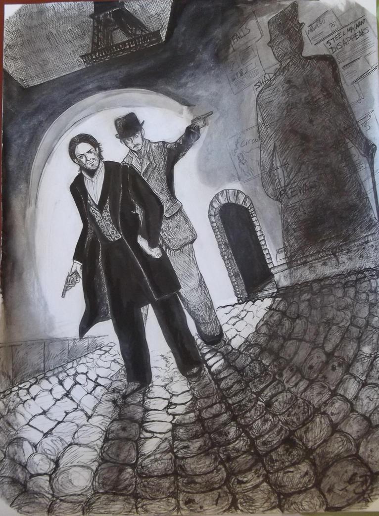 Sherlock Holmes by CrisHaru94