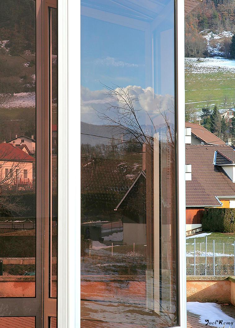 Window reflections by JoelRemy222