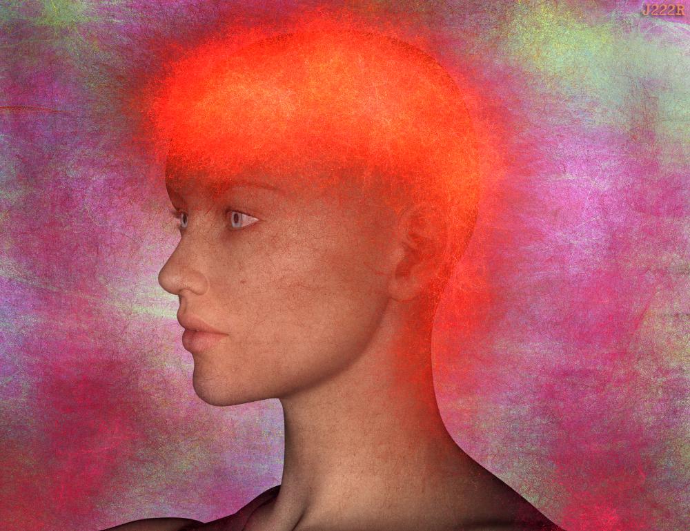 Orange hair by CharlieMerci