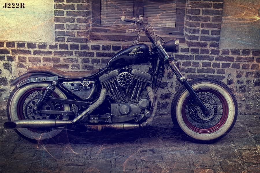 Harley vintage by CharlieMerci