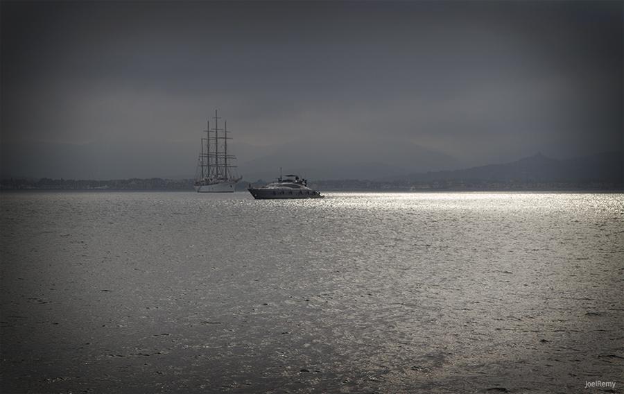 Boats by CharlieMerci